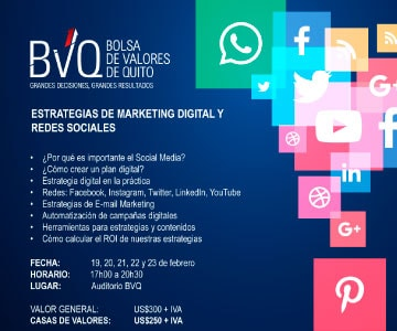 Seminario Estrategias de Marketing Digital y Redes Sociales